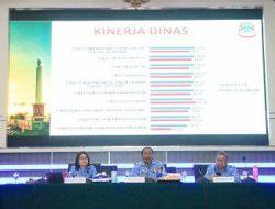 Sekda Usulu pimpin Rakorev Triwulan IV Tahun 2017