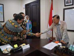 GSVL dan Airin pimpin audiens para Walikota dengan Wapres JK di Istana