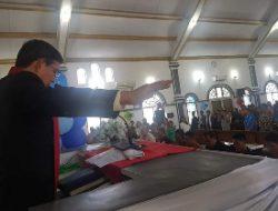 Pnt GSVL khadim ibadah Pengucapan Syukur di Kota Bitung