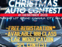 Ayo pecinta otomotif ikut, Fast 2 gelar Christmas Auto Contest 2019
