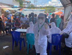 PKM Ranotana tindaklanjuti instruksi GSVL rapid test di Pinasungkulan, dokter Maya minta dukungan warga