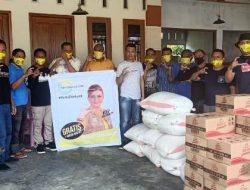 Prihatin dengan bencana alam di Bolsel, Cagub Sulut CEP bawa bantuan