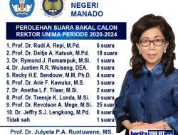 Mege-Katuuk-Repi bersaing jadi suksesor JPAR sebagai Rektor UNIMA