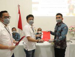 Pilwako Manado : AA – RS Paslon pertama daftar di KPU
