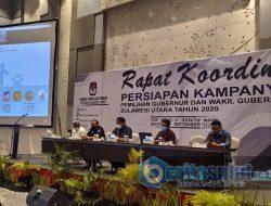 Persiapan kampanye, KPU Sulut gelar rapat koordinasi