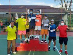 Tampil gemilang, Tim Tenis Manado Cerdas juara Turnamen KTS Open 2020