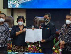 Walikota GSVL tanda-tangani KUA-PPAS APBD Manado 2021