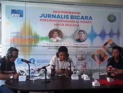 RRI dan IWO Manado sepakat menangkal hoaks!