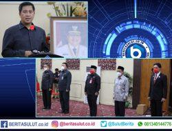 Wagub SK serahkan SK Plh 5 Bupati/Walikota di Sulut, ini mereka