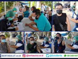 Wartawan di Manado mulai divaksin Covid-19, Walikota GSVL: Tetap jangan abai protokol kesehatan