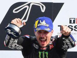 Hasil MotoGP Qatar 2021: Vinales juara, Rossi terlempar dari 10 besar
