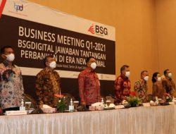 Bahas strategi dan rencana bisnis, Komisaris dan Direksi baru BSG gelar Business Meeting
