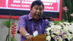 Didaulat jabat Ketua MPI KNPI Sulut, James Sumendap bakar semangat Dondokambey Cs