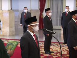 Presiden Jokowi lantik 2 Menteri dan 1 Kepala Badan, ini mereka