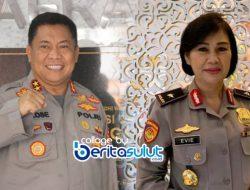 Mutasi Polri, 2 Jenderal Sulut ini dapat jabatan baru