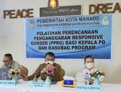 Dinas P3A Manado gelar pelatihan PPRG, Sekda Micler beri pemahaman tentang PUG