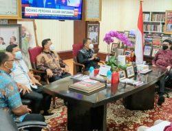 Sekda Micler Lakat dapat petunjuk Menteri Tjahjo terkait pelaksanaan reformasi birokrasi