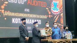 GSVL-Mor akhiri pemerintahan Manado dengan opini WTP