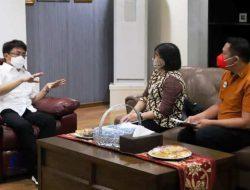 Andrei Angouw berharap dapat data akurat masyarakat Manado tercover BPJS Kesehatan