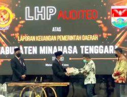 Pemkab Mitra raih opini WTP dari BPK atas LKPD 2020