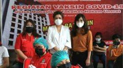 Dies Natalis 63 FH Unsrat gandeng Pemkot Manado gelar vaksinasi Covid-19, ini pesan isteri Wali Kota AA