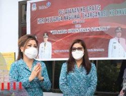 Bantu alat kontrasepsi, isteri AARS dukung program KB Gratis untuk warga Manado