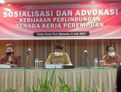 Dinas P3A advokasi naker perempuan, Wali Kota Manado dorong produktivitas dan daya saing
