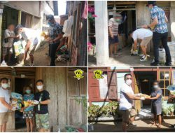 IOF Sulut salurkan bantuan bagi warga Lowu Utara terdampak PPKM