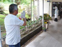 Bupati FDW beri semangat pasien Covid-19 dan Nakes di RSU Kalooran Amurang
