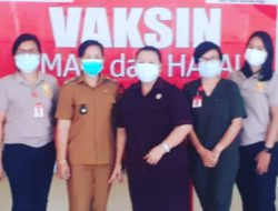 Legislator Sulut Agustien Kambey pantau vaksinasi Covid-19 di Lembean