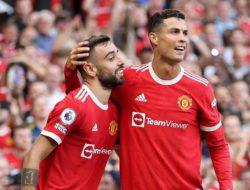 Debut gemilang Ronaldo langsung cetak 2 gol, MU kandaskan Newcastle