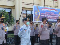 Kepala Jasa Raharja Sulut ikut apel PATUH SAMRAT 2021 di Mapolda Sulut